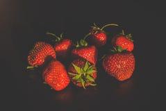 Erdbeeren stockbild