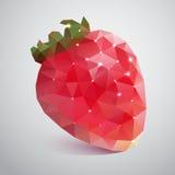 Erdbeeren der Dreiecke Stockfoto