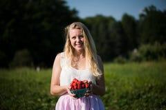 Erdbeeren für Sie Lizenzfreies Stockbild