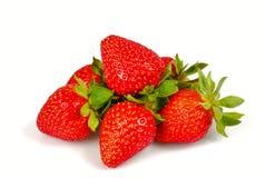 Erdbeeren getrennt Stockfotografie