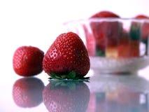 Erdbeeren III stockfotos