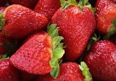 Erdbeeren schließen oben Lizenzfreie Stockfotografie