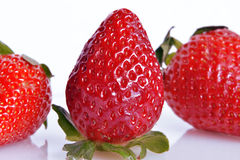 Erdbeeren, Stillleben Stockfoto