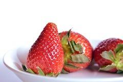 Erdbeeren, Stillleben stockbild