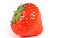 Erdbeerenahaufnahme Lizenzfreies Stockfoto