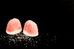 Erdbeeresüßigkeiten Stockbild