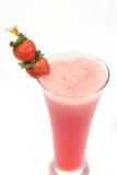 Erdbeeresaft lizenzfreie stockfotos