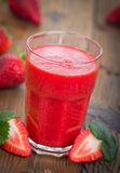 Erdbeeresmoothie Lizenzfreies Stockbild