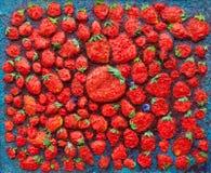 Erdbeerhimmel Lizenzfreies Stockbild