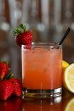 Erdbeerlimonade Lizenzfreie Stockbilder