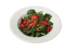 Erdbeersalat Lizenzfreie Stockbilder