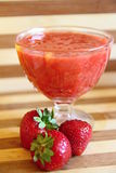 Erdbeerschüssel Stockbilder