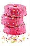 Erdbeerschaumgummiringe Lizenzfreie Stockfotos