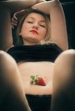 Erdbeerträume Stockbilder