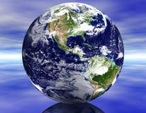 Erde 3D Stockfoto