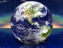 Erde 3D Stockbild