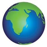 Erde-Abbildung Lizenzfreies Stockfoto