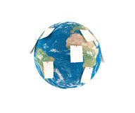 Erde-Anmerkungen Lizenzfreie Stockbilder