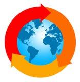 Erde bereitet auf Lizenzfreie Stockfotos