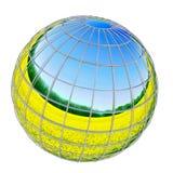 Erde des Sommers vektor abbildung