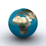 Erde - Europa Stockfoto