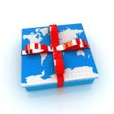 Erde für Geschenk Stockfotos