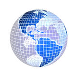Erde, Fokus auf Amerika, USA Stockfotos