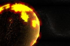 Erde-Formung Stockbild