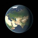 Erde in HD Lizenzfreies Stockbild