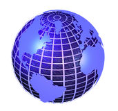 Erde-Kugel Stockfoto