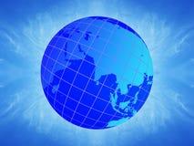 Erde-Kugel. Stockbild