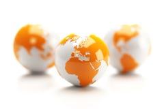 Erde-Kugel stock abbildung