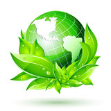 Erde-Kugel des Vektor3d Stockbild