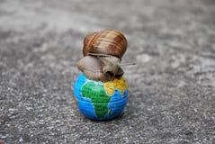 Erde Nennen: verkrampftes Haus Lizenzfreies Stockbild