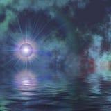Erde-Stern Stockbild