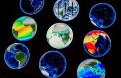 Erde-Steuerung Lizenzfreie Stockbilder