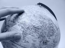 Erde-Studie: Asien stockbild