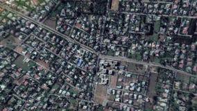 Erde summt herein lautes Summen aus Rabat Marokko laut stock footage