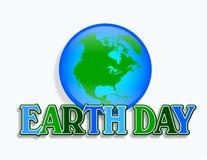 Erde-Tagesgraphik Stockfotos