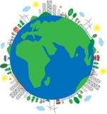 Erde umgibt Umgebung eco Stockfotos
