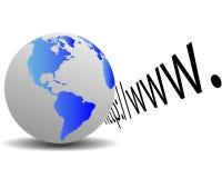 Erde und HTTP Lizenzfreie Stockfotos