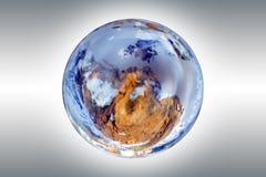 Erde und Kugel Stockfotografie
