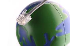Erde und Technologie Lizenzfreies Stockfoto