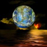 Erde und Wasser vektor abbildung