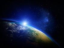 Erde vom Platz Lizenzfreie Stockfotografie