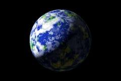 Erde vom Platz Stockfotografie