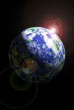 Erde vom Platz Lizenzfreie Stockbilder