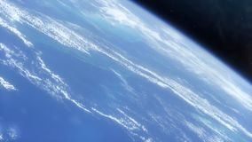 Erde vom Raum HD stock footage
