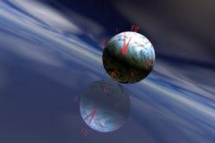 Erde-Zeit Stockfoto