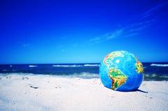 Erdekugel. Begriffsbild stockfotografie